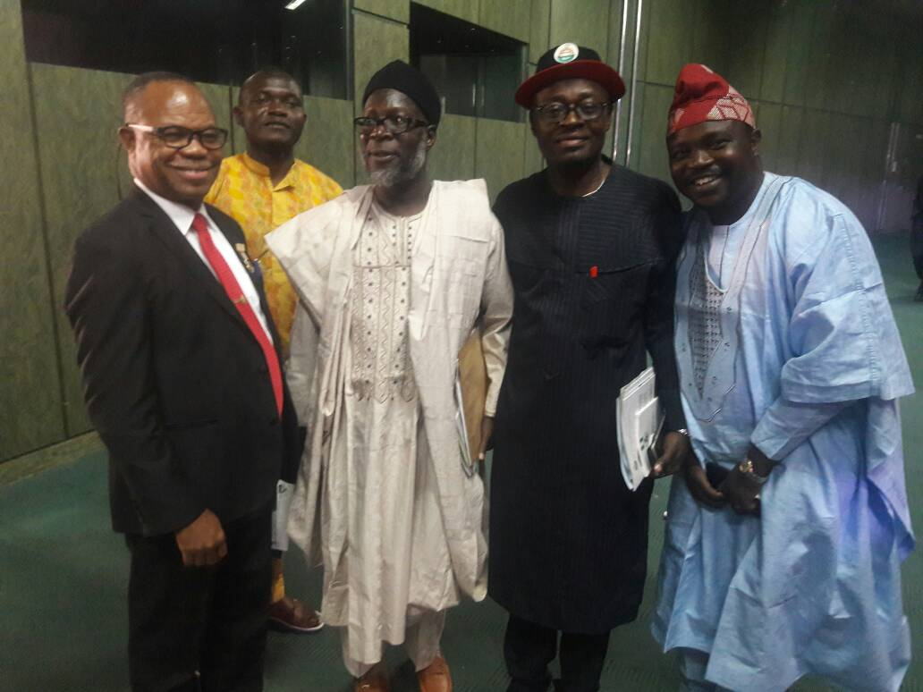 CHIARMAN AND SOME MEMBERS DURING THE NSE PRESIDENT INVESTITURE