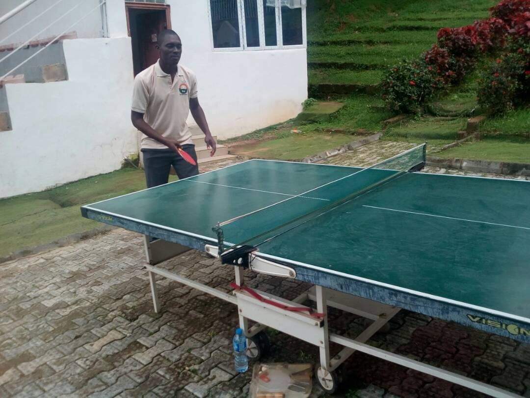 TABLE TENNIS COMPETITION DURING THE BRANCH SPORTS EVENT