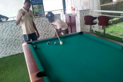 SNOOKER COMPETITION DURING THE BRANCH SPORTS EVENT