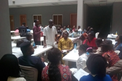 TECHNICAL SECRETARY DURING THE BRANCH CORPORATE TRAINING FOR ITS MEMBERS